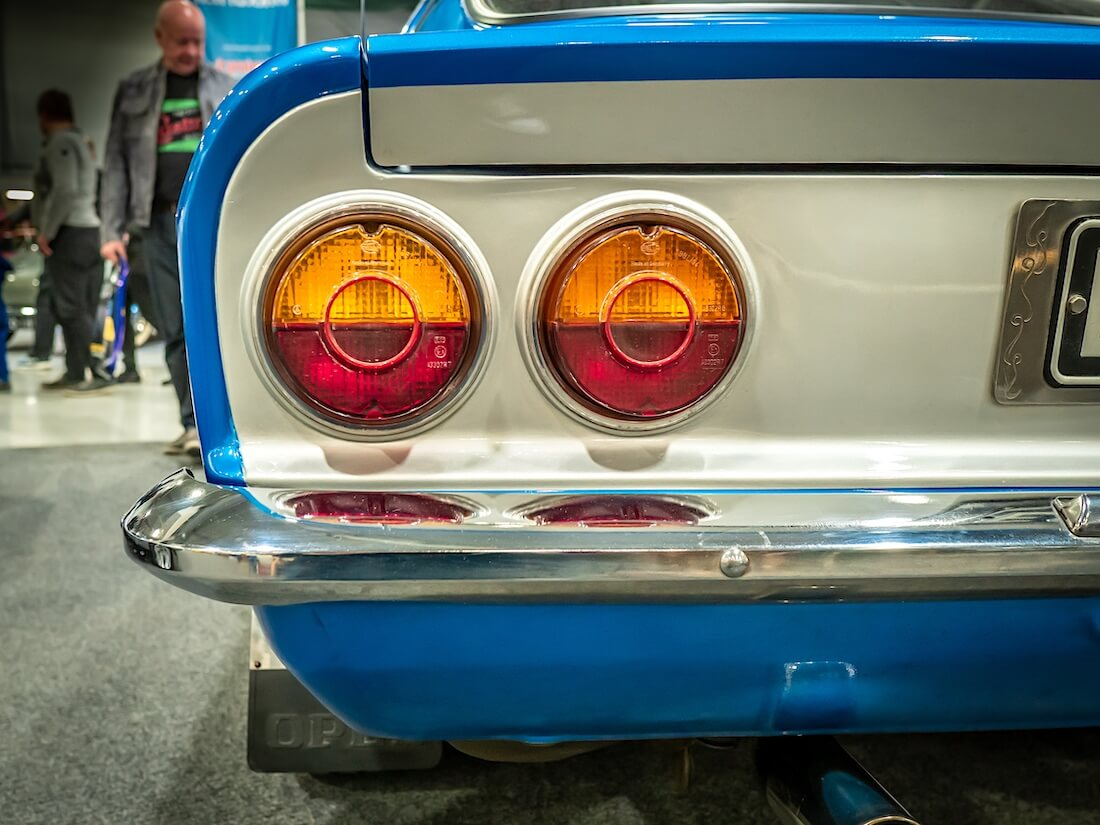 1971 Opel Manta A takavalot