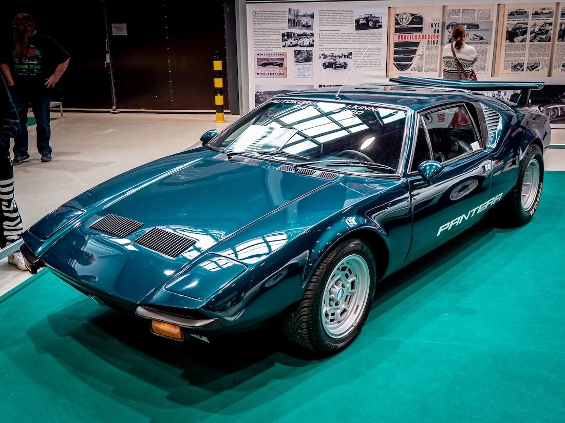 Vihreä 1973 De Tomaso Pantera
