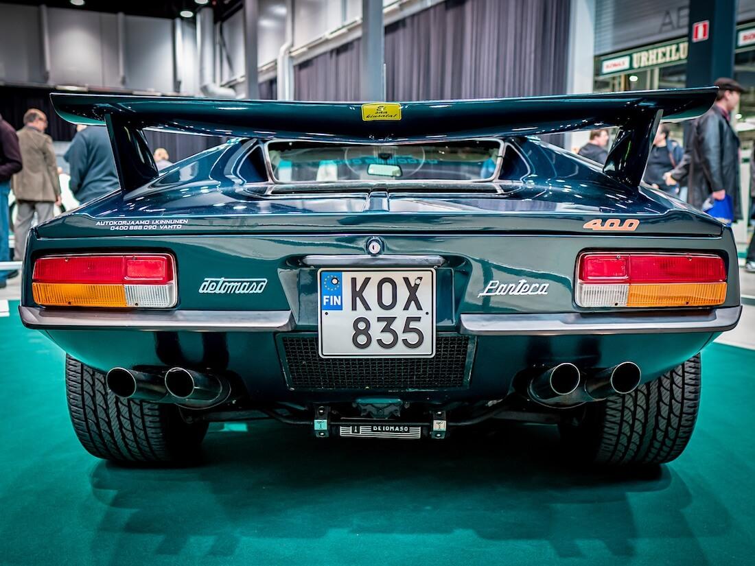 1973 De Tomaso Panteran takasiipi