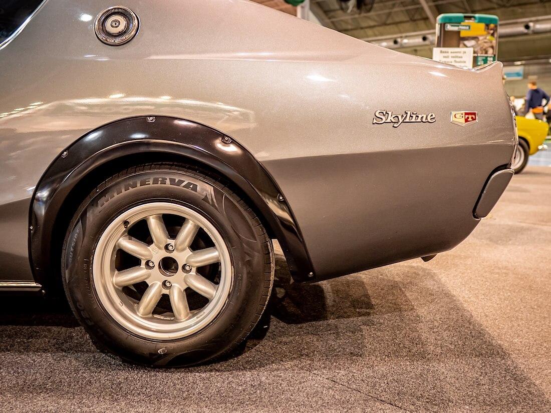 1974 Datsun Nissan 240K-GT Skyline takarengas