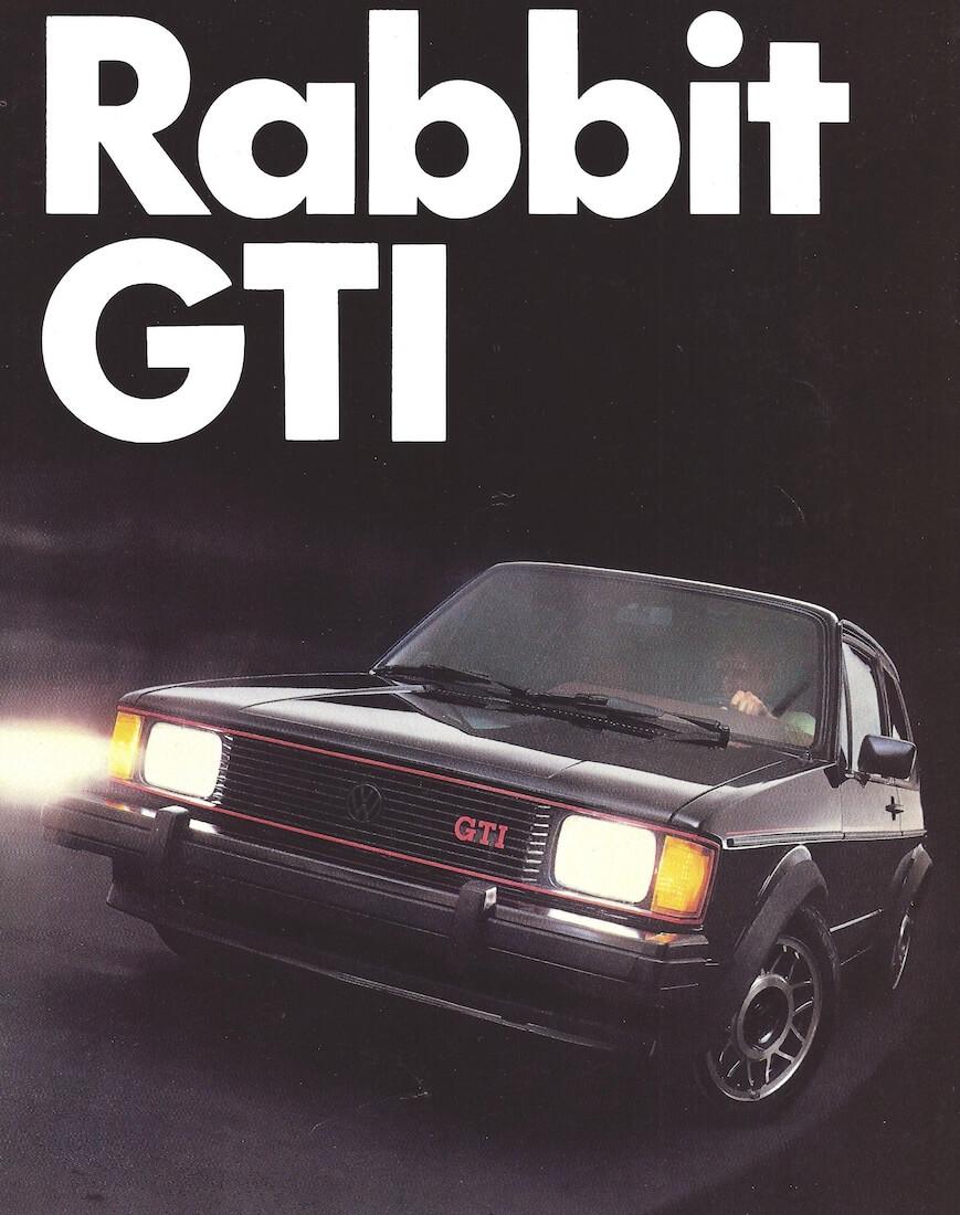 Rabbit GTI:n mainos vuodelta 1983