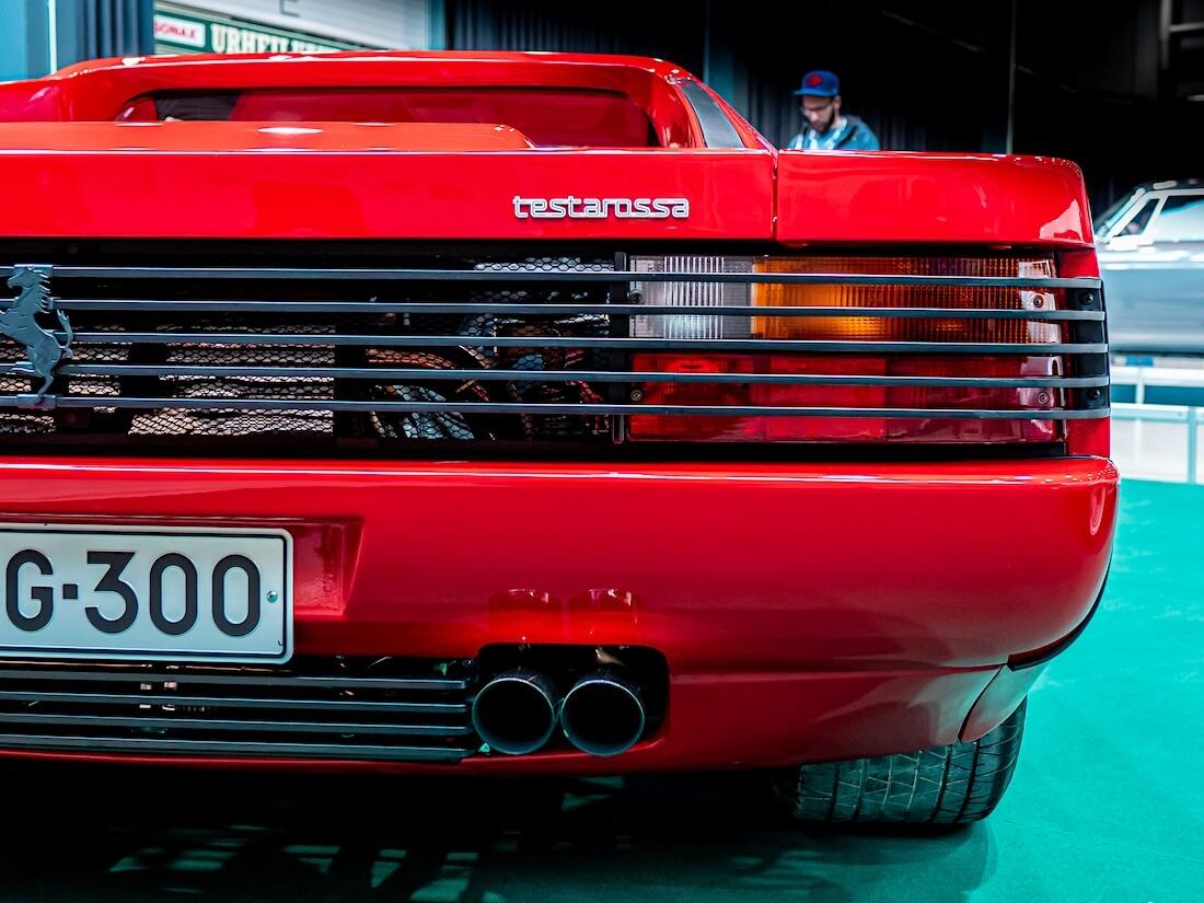 1989 Ferrari Testarossan takavalot