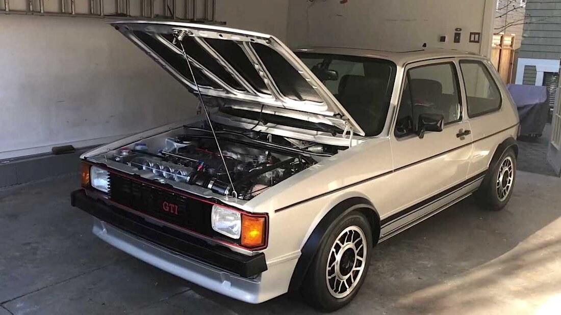 Volkswagen Mk1 Golf GTI projekti alkaa valmistua.