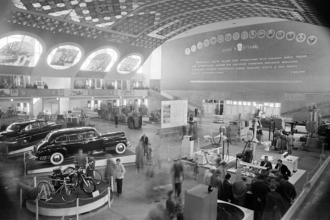 Neuvostoliitto-näyttely Helsingissä 1950-luvun alussa