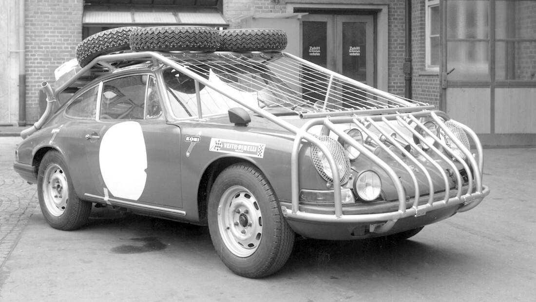 1968 Porsche 911S Lontoo-Sydney ralliauto