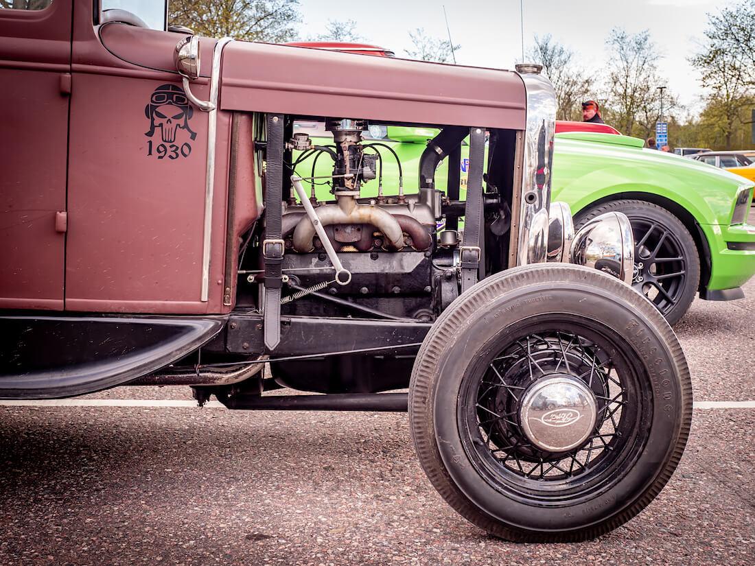 1930 Ford Model A 3,3-litran moottori