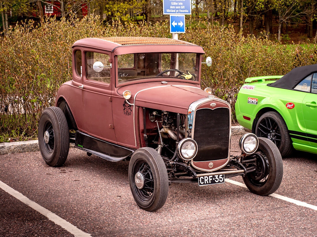 1930 Ford A coupe rodi