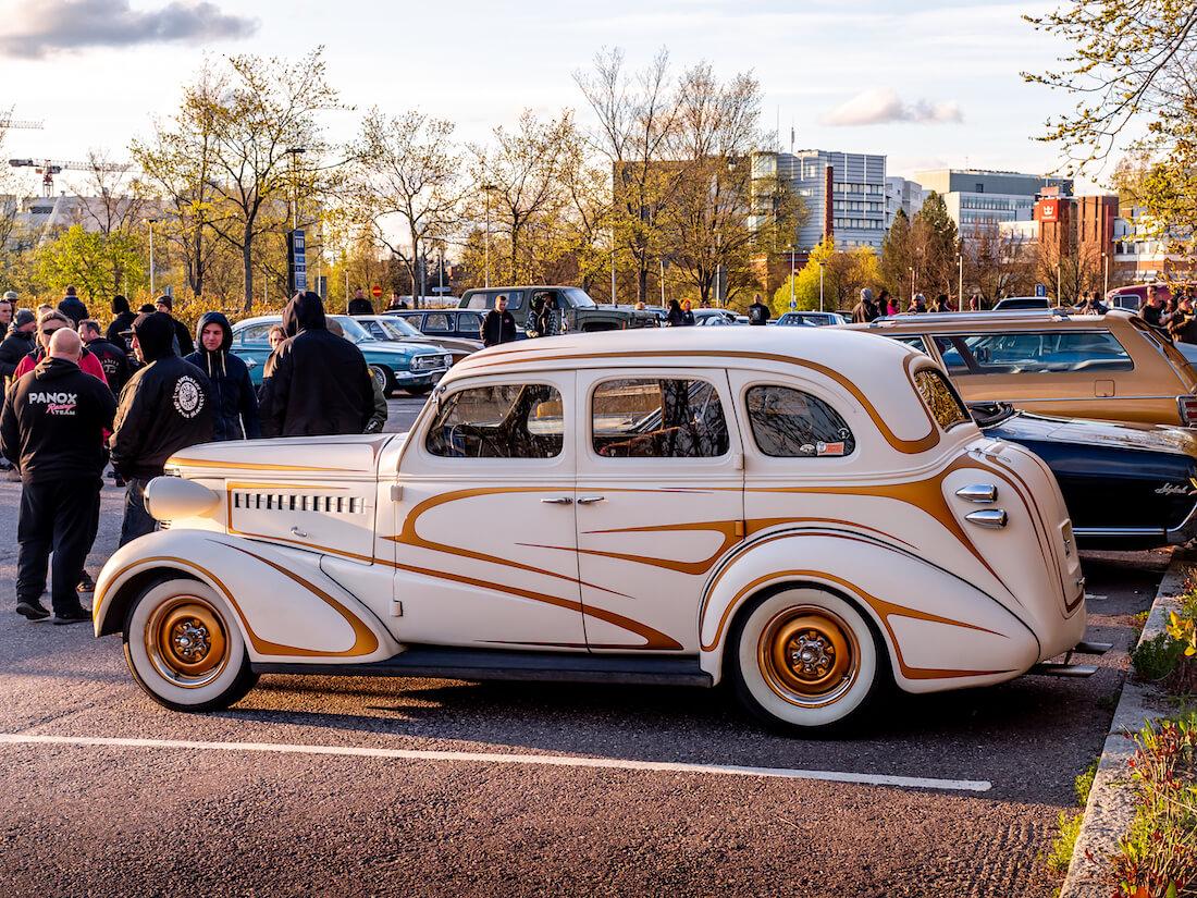 1938 Chevrolet Master Deluxe 4d custom