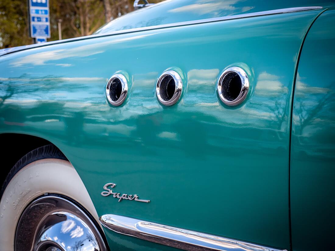 1949 Buick Superin VentiPort portholet