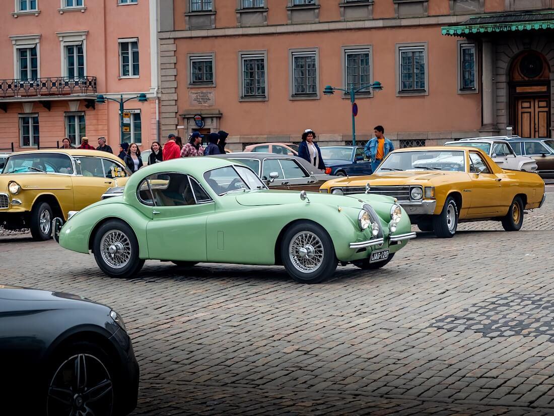 1952 Jaguar XK120 Kauppatorilla