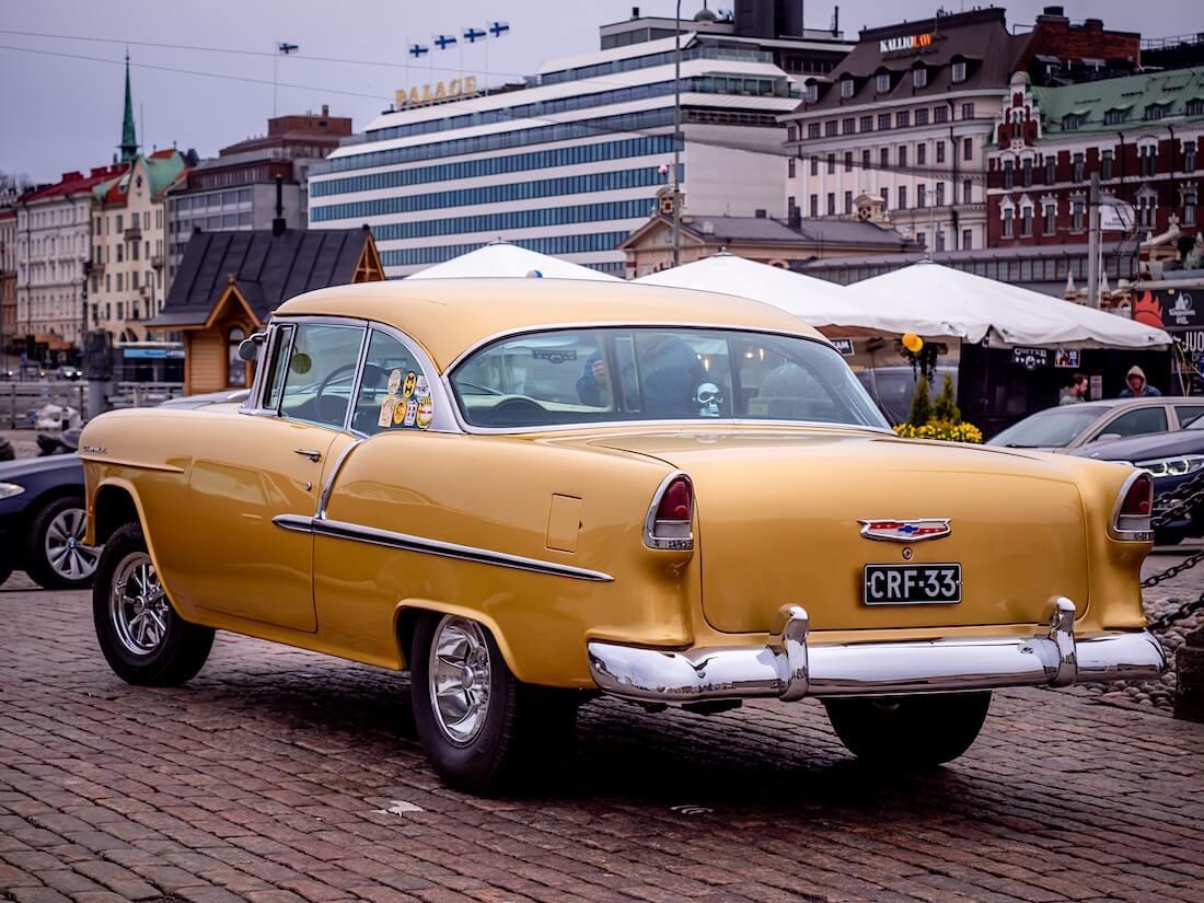 Gasser-henkinen 1955 Chevrolet BelAir