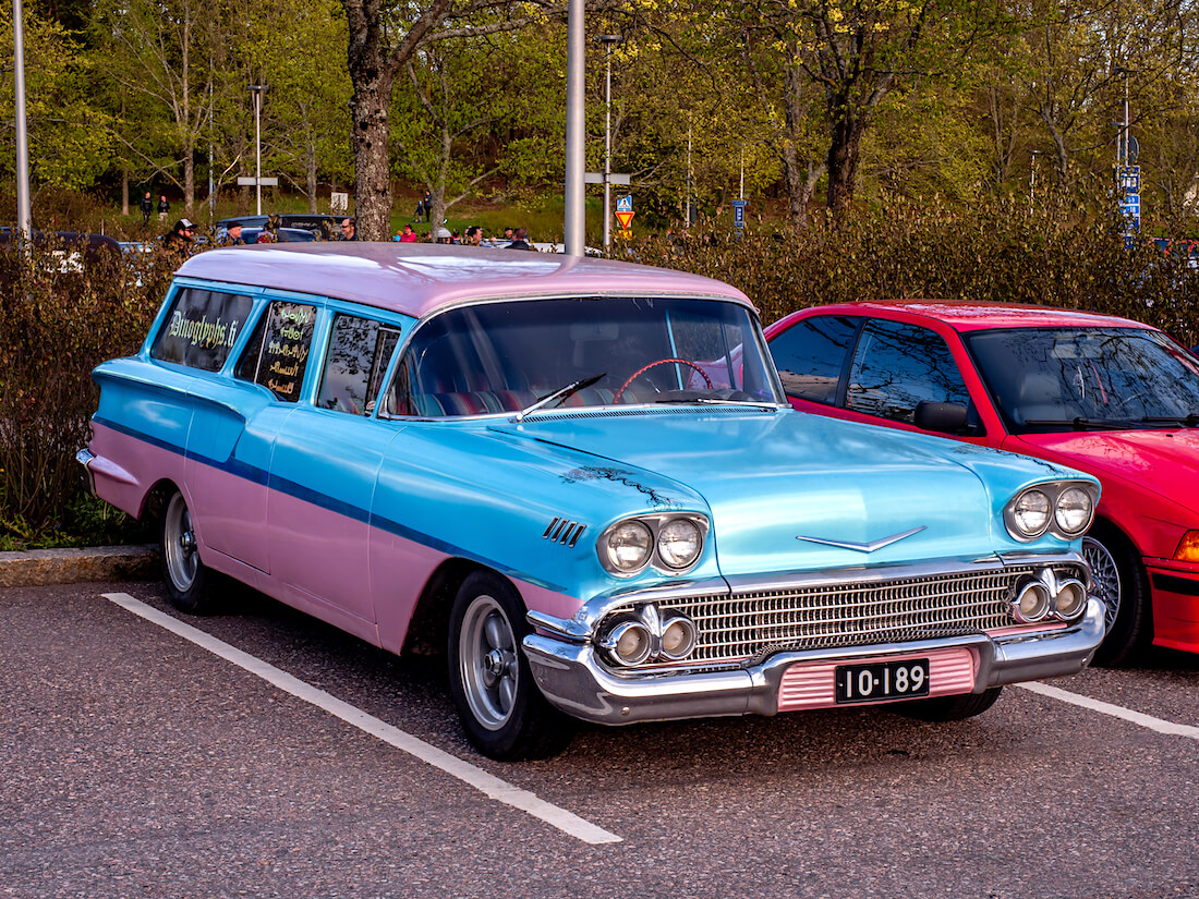 1958 Chevrolet 1500 Brookwood Station Wagon