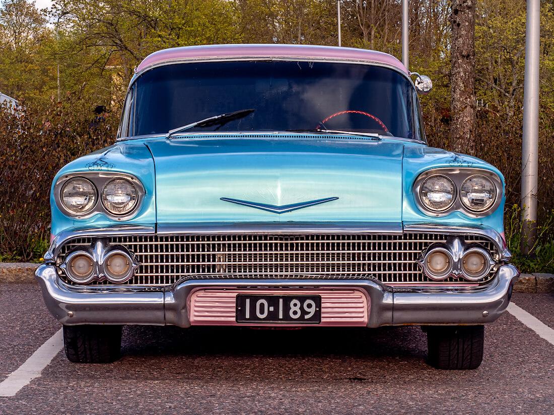 1958 Chevrolet 1500 Brookwood Station Wagon big block V8