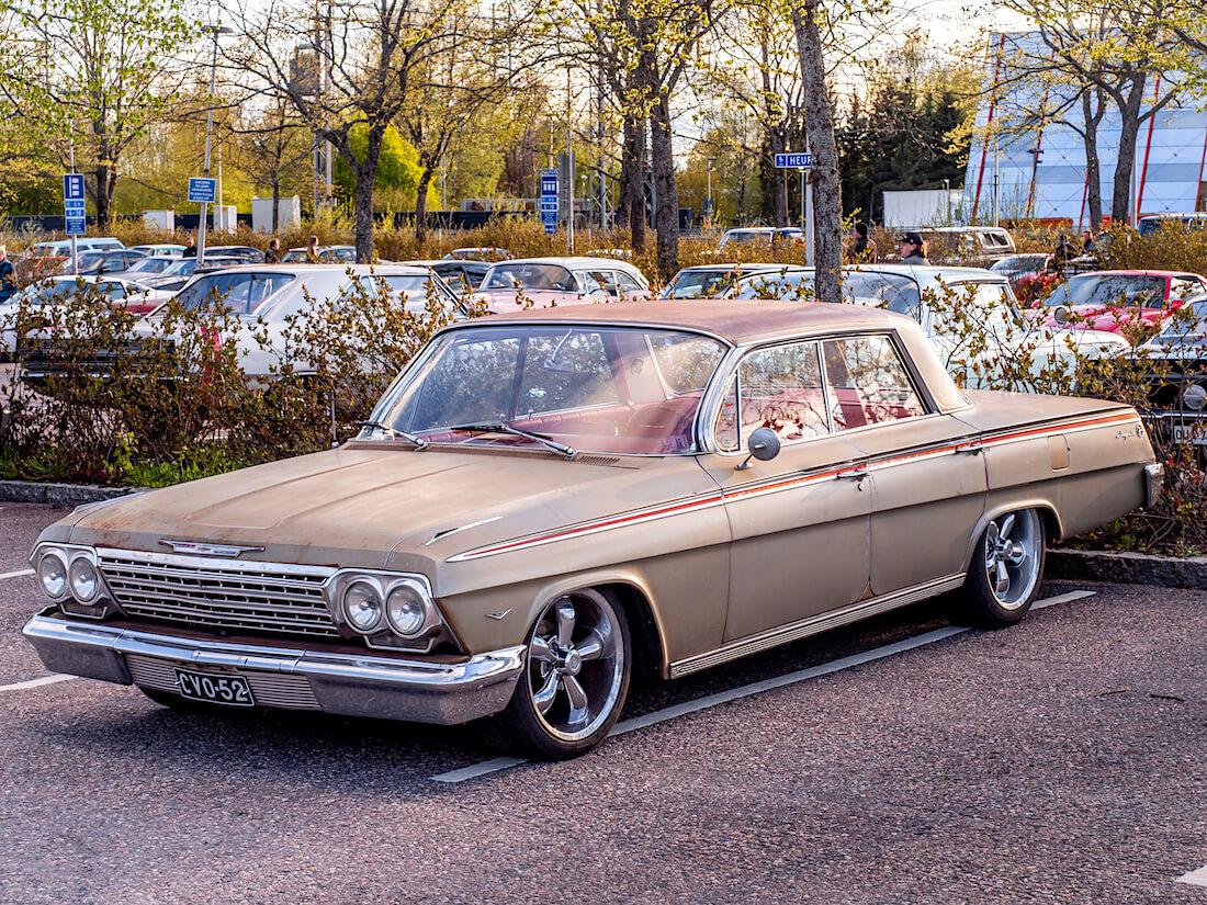 1962 Chevrolet Impala 4d Sport Sedan v8