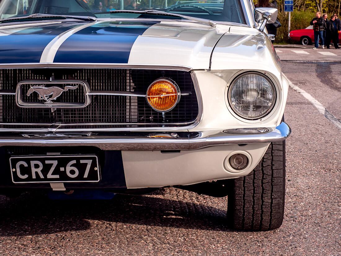 1967 Ford Mustang GT keulan yksityiskohta
