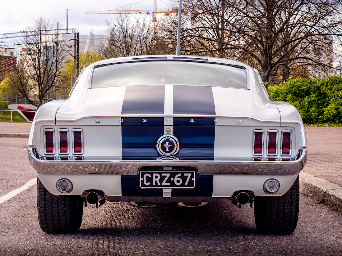 1967 Ford Mustang GT Fastback takaa