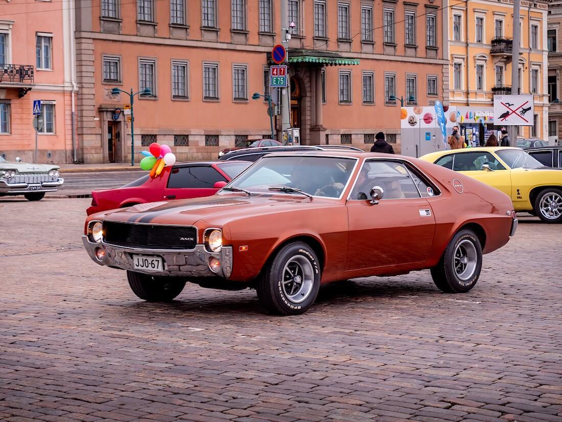 1968 AMC AMX V8 Kauppatorilla Helsingissä
