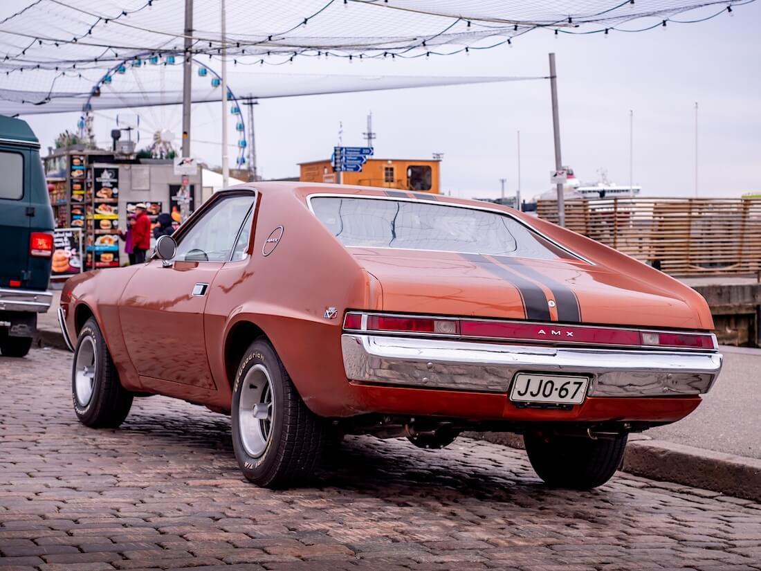 Ruskea 1968 AMC AMX 390cid V8 Kaupatorilla