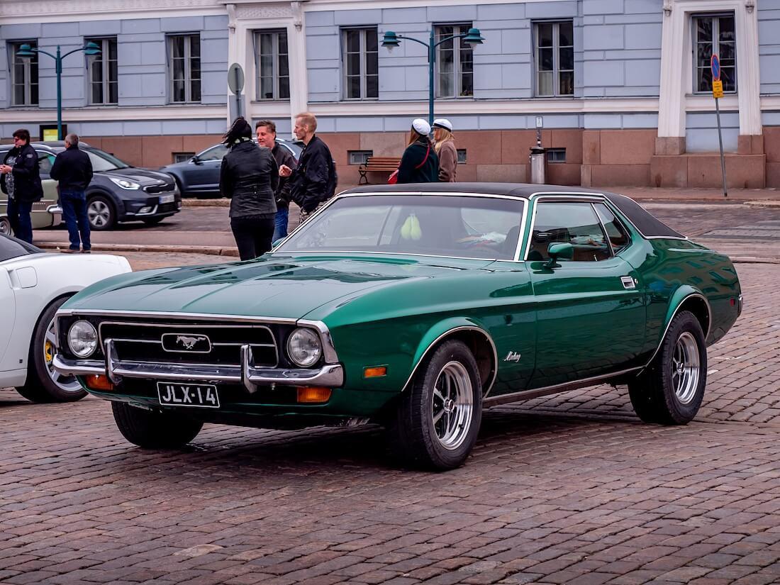 Vihreä 1971 Ford Mustang 351cid kauppatorilla
