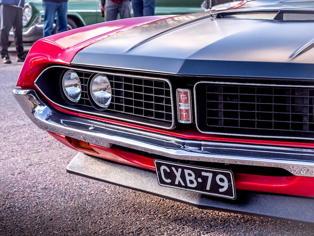 1971 Ford Torino GT keulamaski