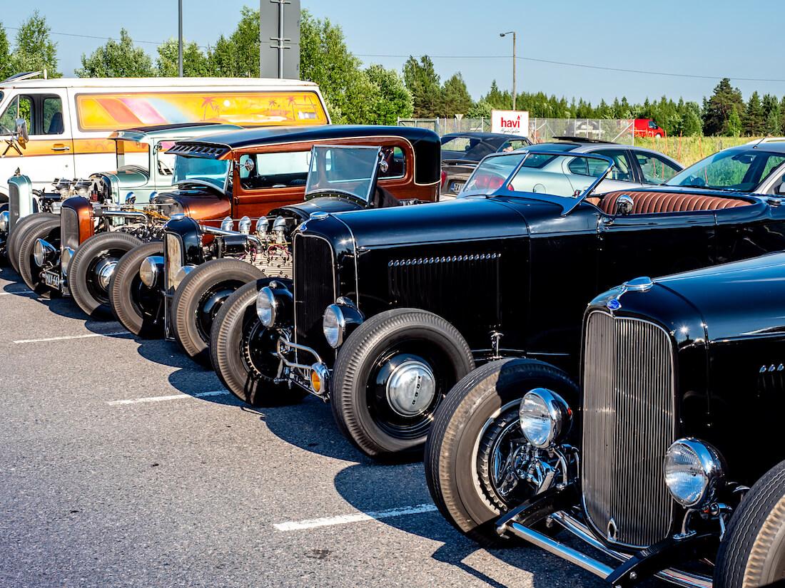 Ford rodeja Riihimäen Turpakäräjillä