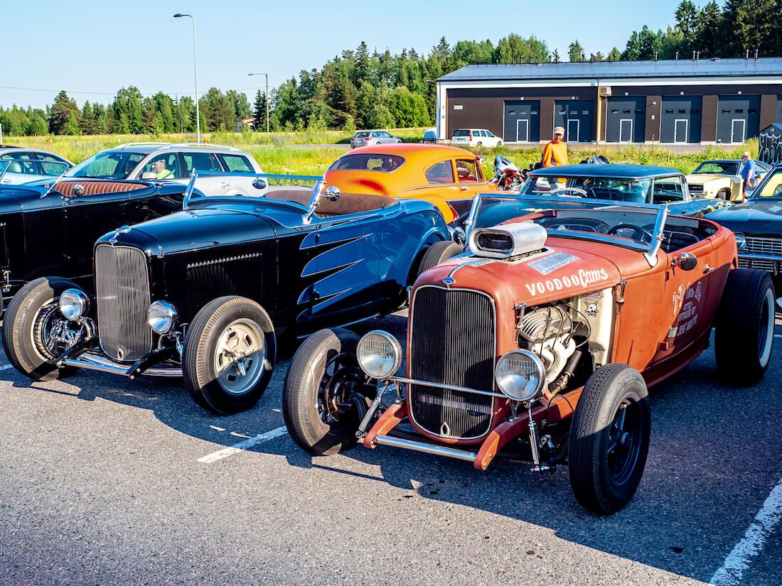 1932 Ford A ja 1932 Ford B Deuce rodit