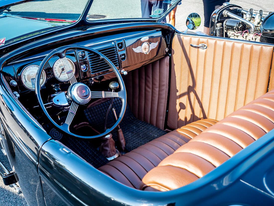 1932 Ford rodin nahkasisusta
