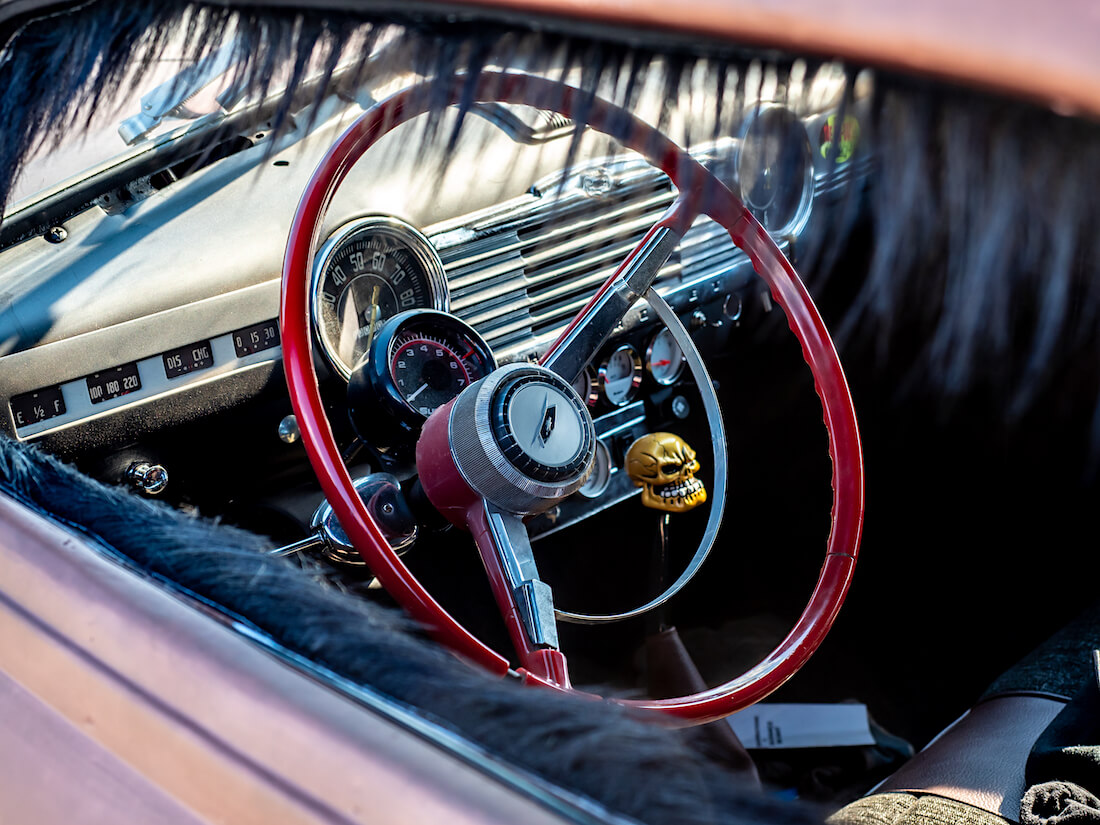 1946 Chevrolet Stylermaster kustom sisustus