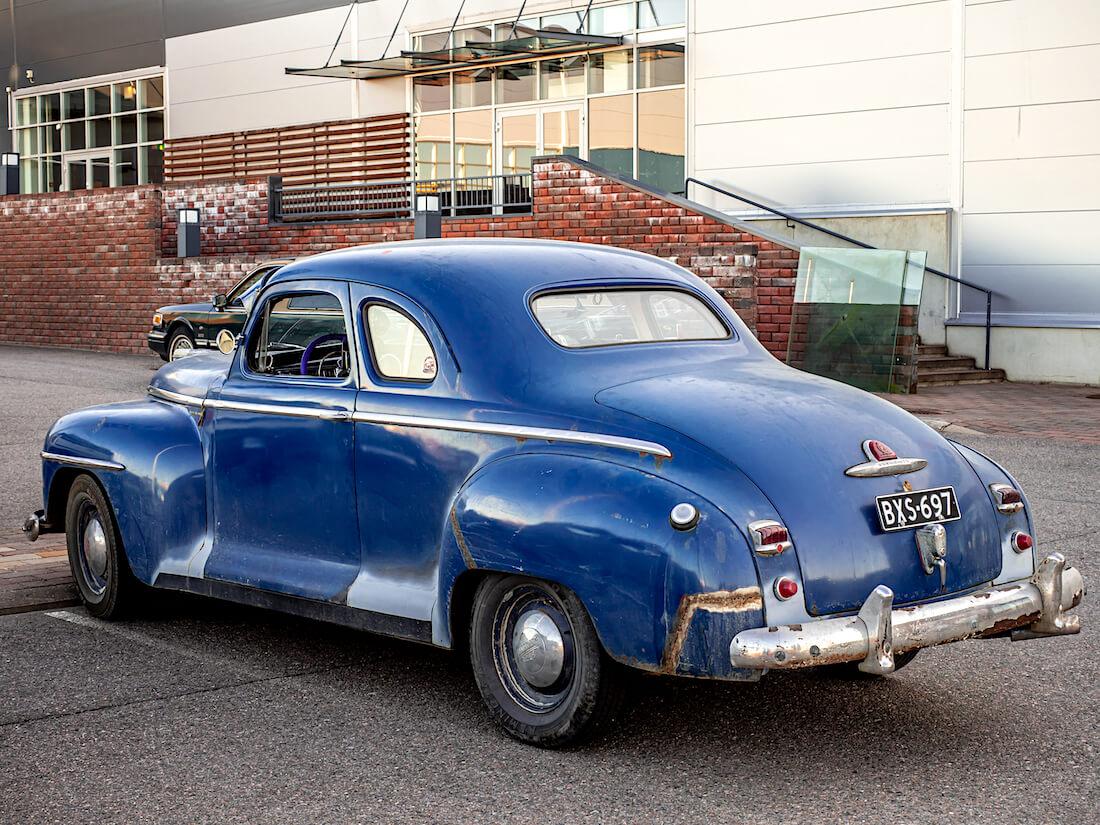 1948 Plymouth Business Coupe 271.8cid suora-6 jenkkiauto