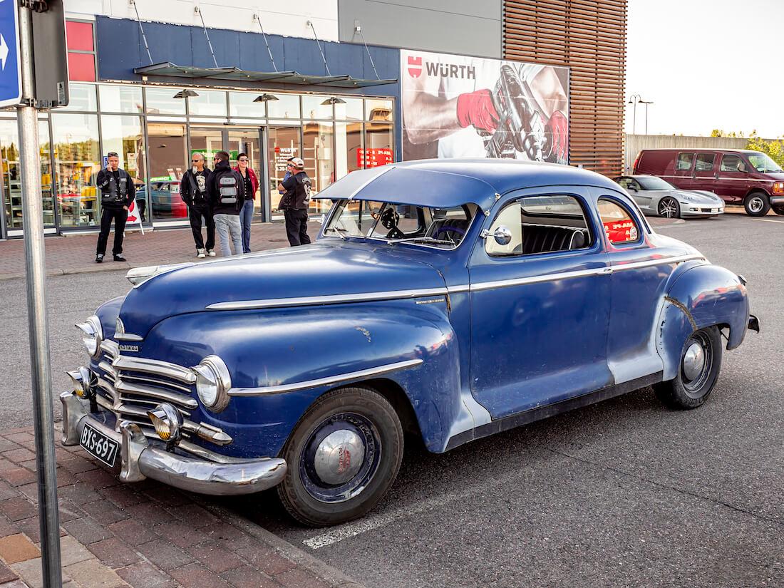 1948 Plymouth Business Coupe jenkkiauto Porvoossa