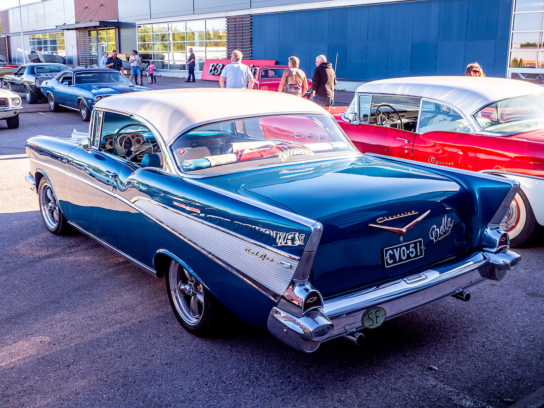 "1957 Chevrolet Bel Air V8 ""Bella"""