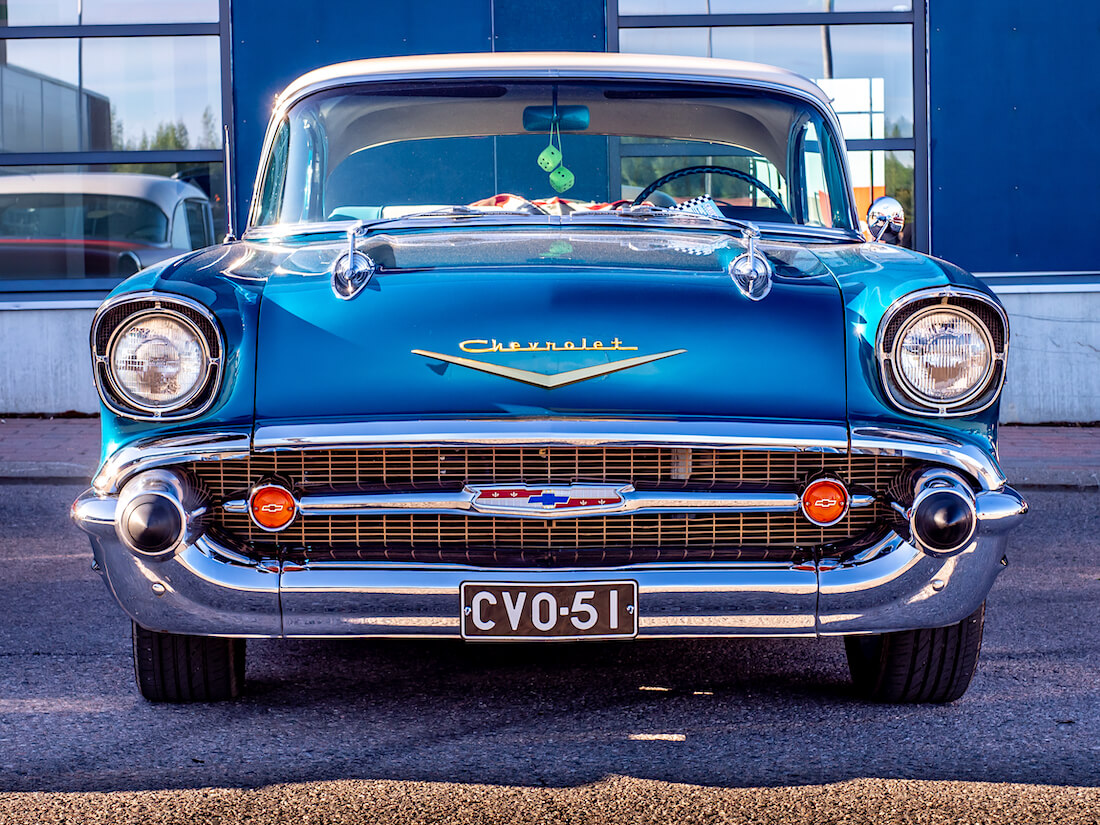 1957 Chevrolet Bel Air V8 Series 2400 348cid