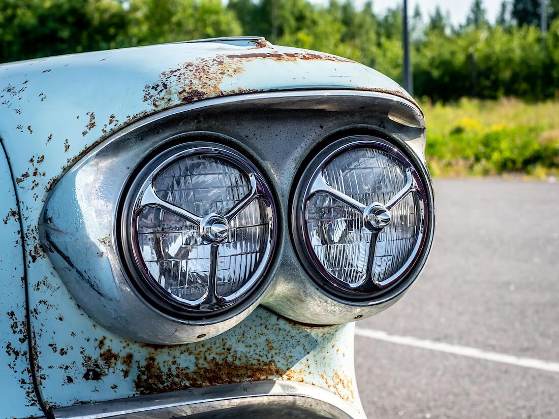 1958 Cadillac DeVillen ajovalot