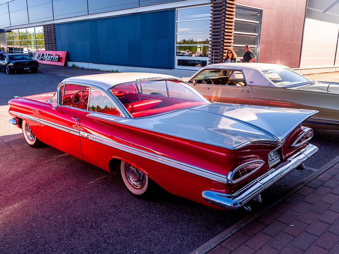 1959 Chevrolet Impala jenkkiauton takasiivet