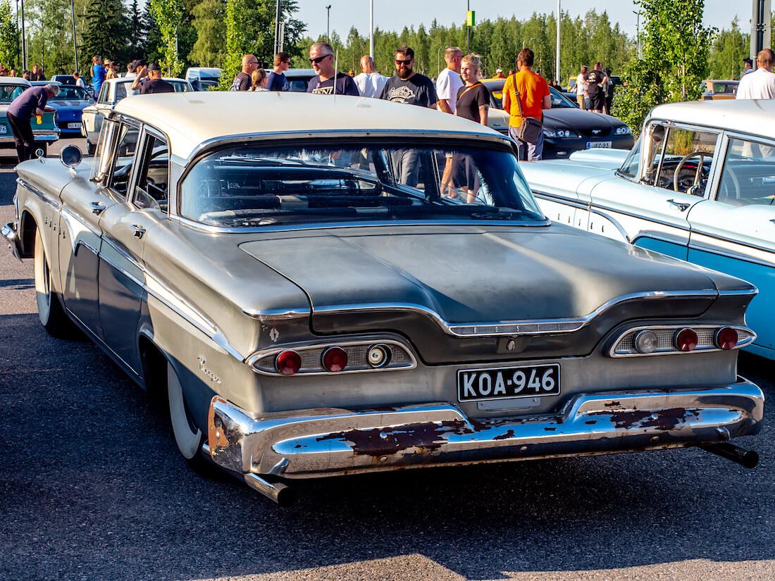 Neliovinen 1959 Edsel Ranger Sedan