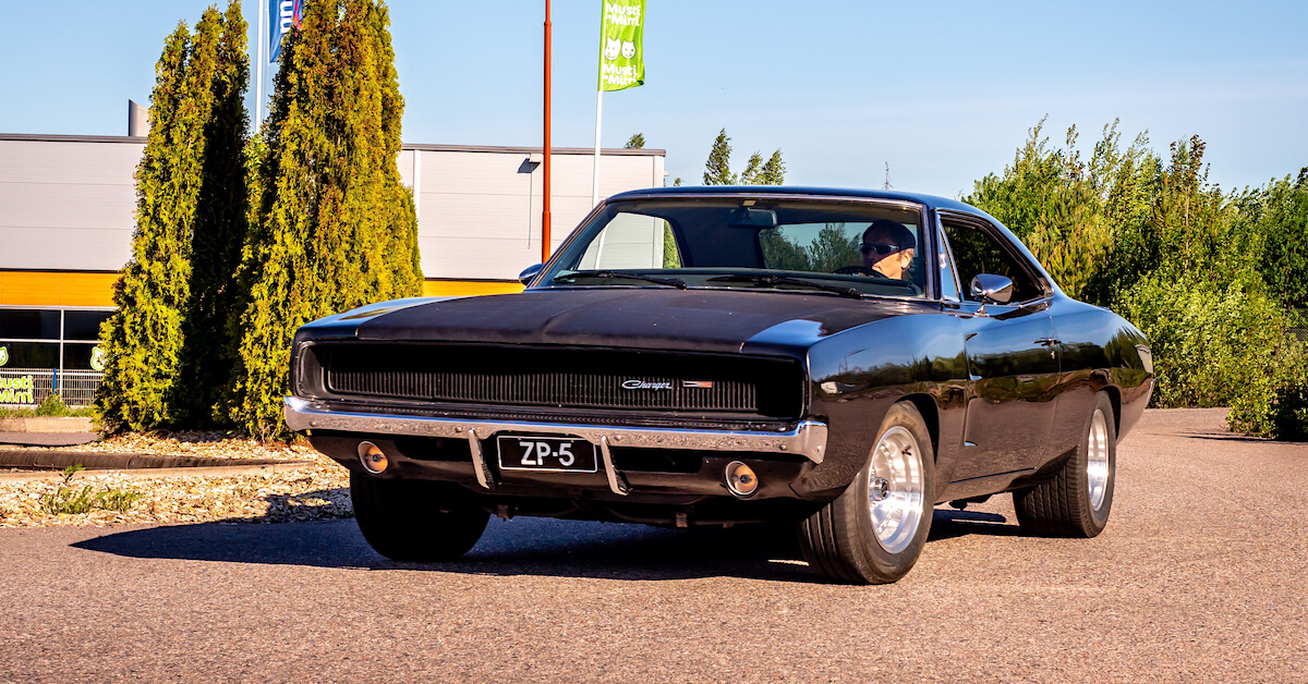 Ahdettu 1968 Dodge Charger 383cid V8 Porvoossa