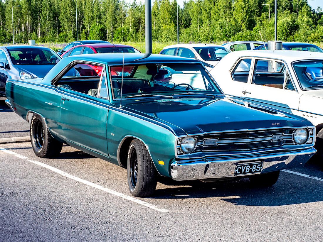 Vihreä 1969 Dodge Dart GT 2d Hardtop