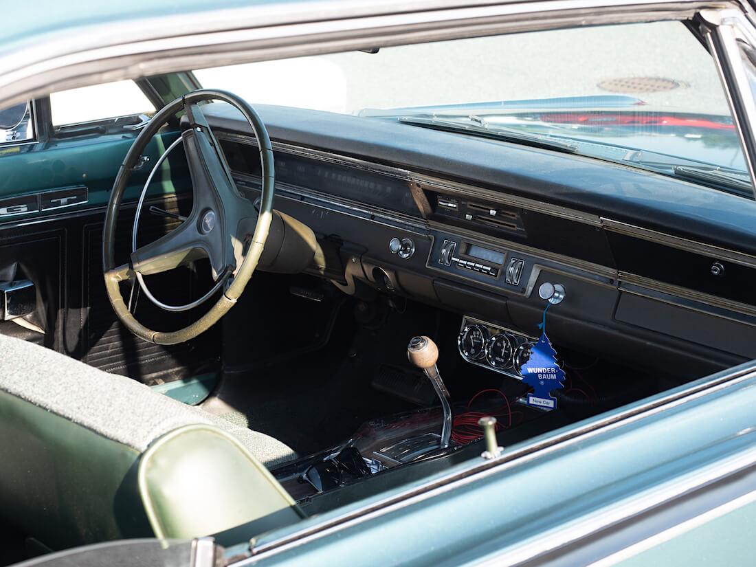 1969 Dodge Dart GT:n sisusta