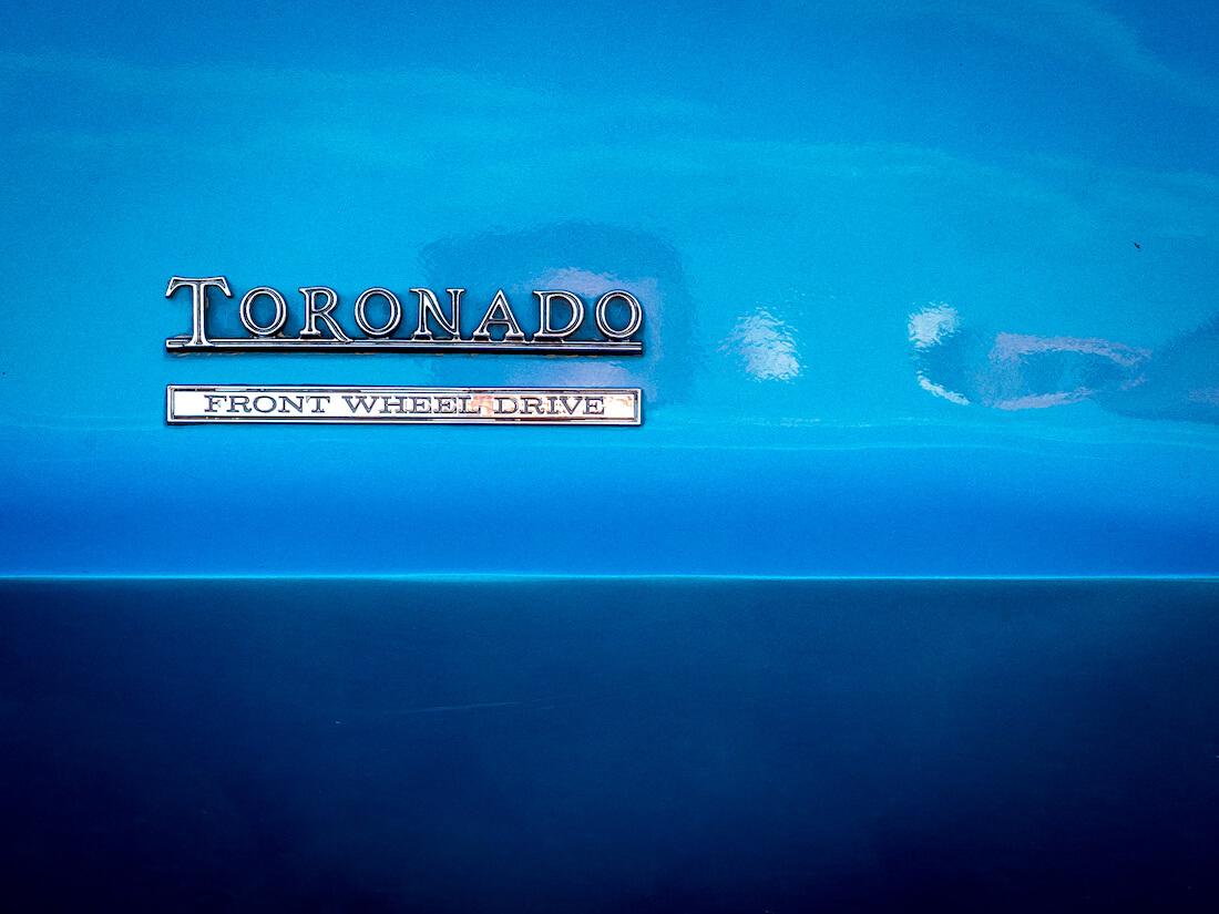 Oldsmobile Toronadon etuveto-merkki FWD