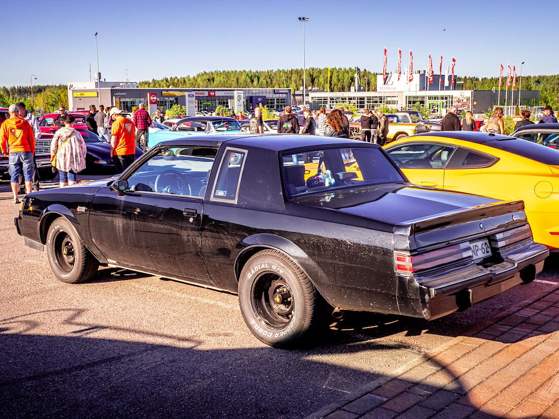 1987 Buick Regal Grand National turboahdettu jenkkiauto