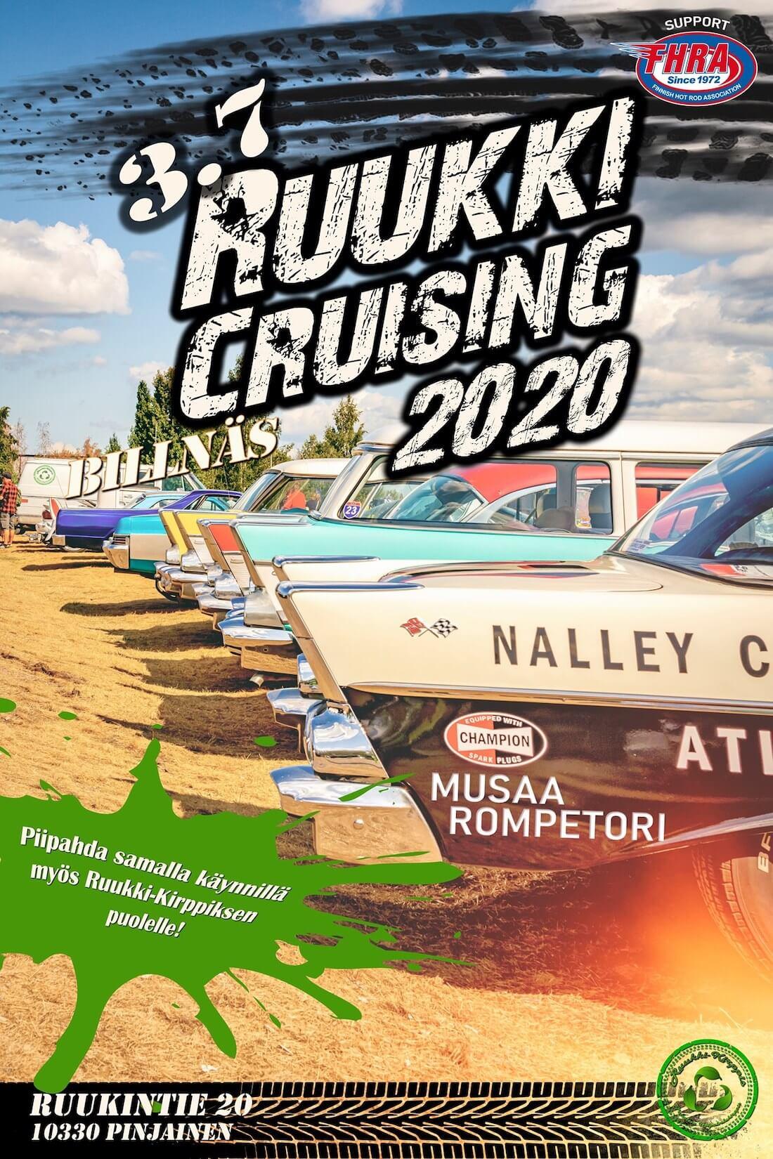 Ruukki Cruising 3.7.2020 mainosjuliste