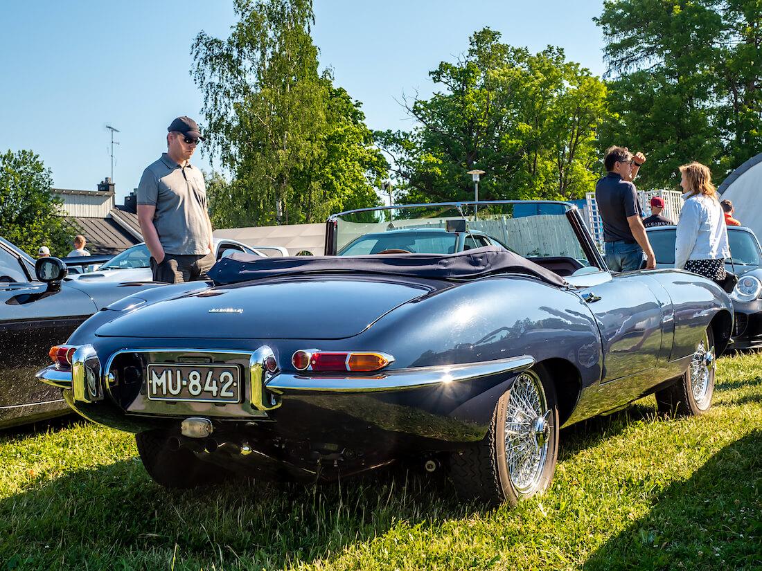 3,8-litrainen 1962 Jaguar E-Type avoauto