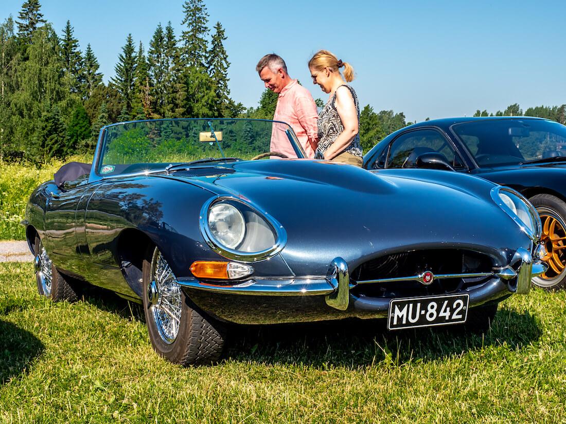 1962 Jaguar E-type Open Two Seater Tuusulassa