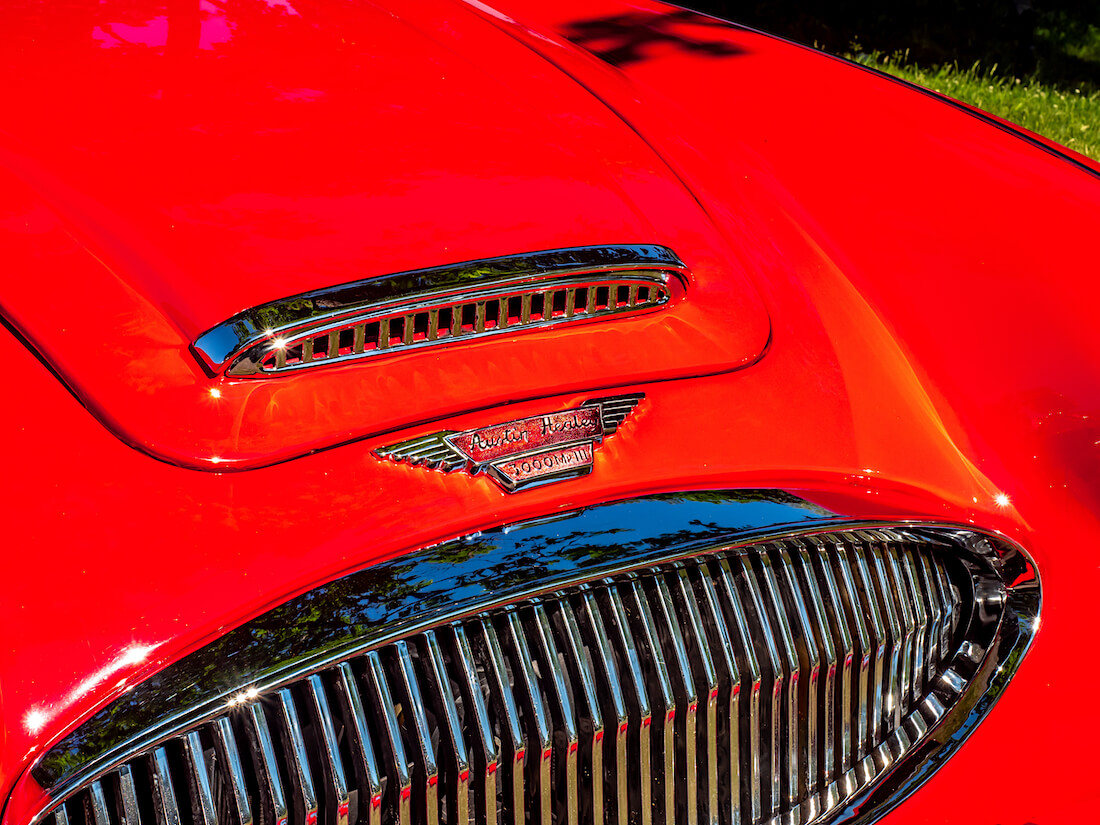 1964 Austin-Healey 3000 Mk3 keulamerkki