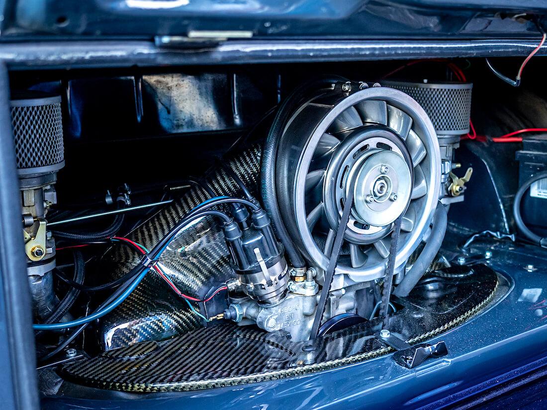 VW junakeulan moottori Porsche-jähdytyksellä