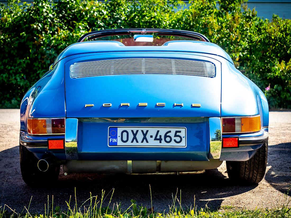 1979 Porsche 911 Speedster conversion takaa