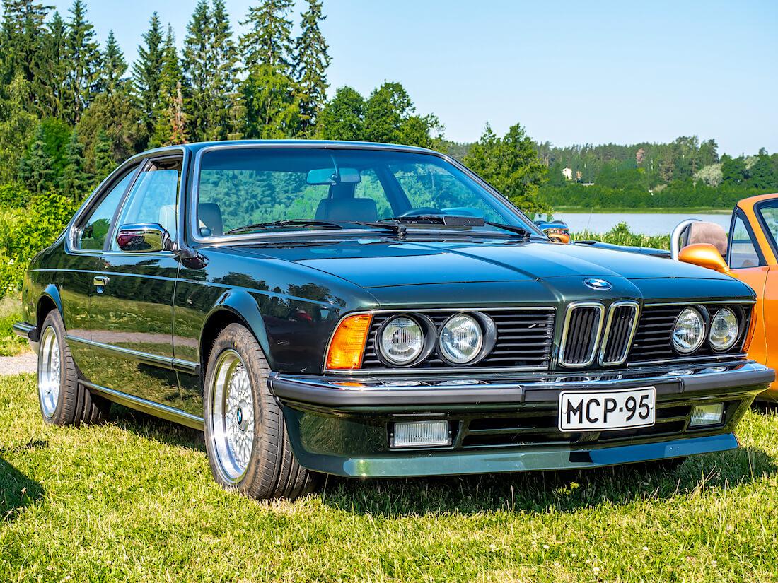 1987 BMW E24 628CSi urheiluauto