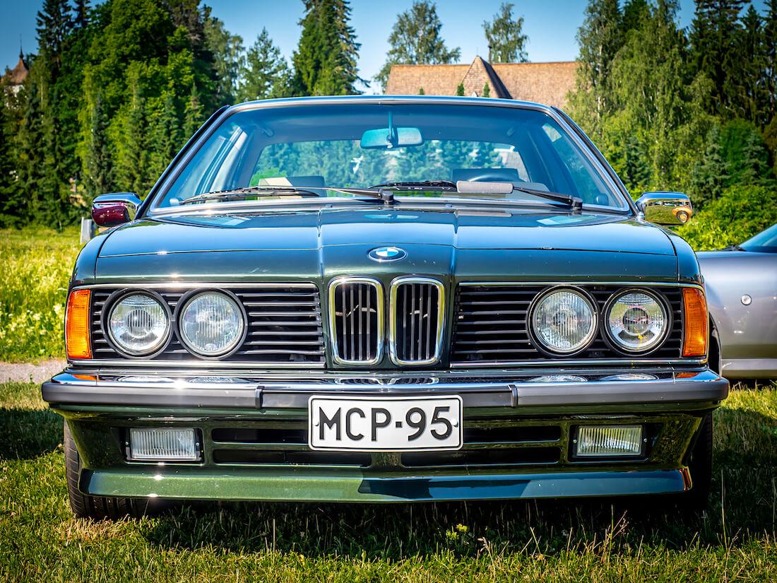 1987 BMW E24 628CSi edestä