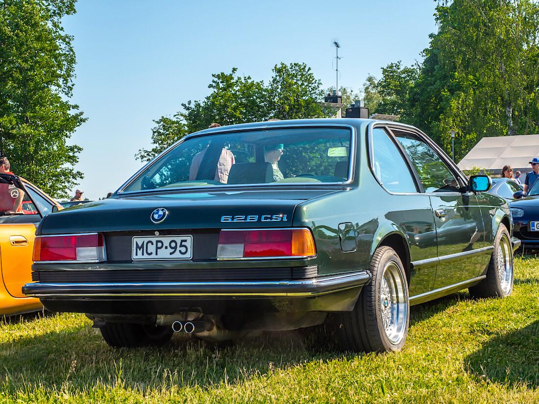 1987 BMW E24 628CSi takaa