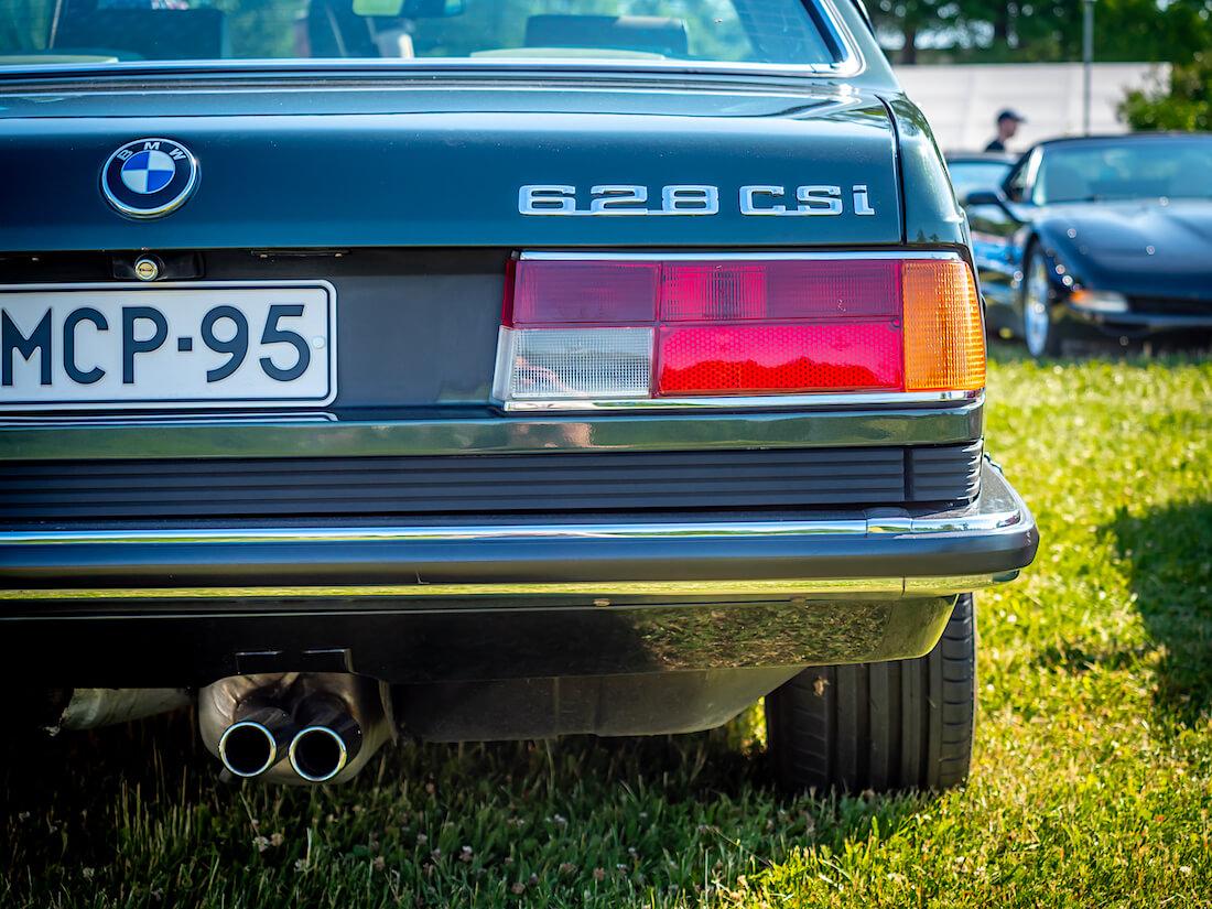 1987 BMW E24 628CSi takavalot